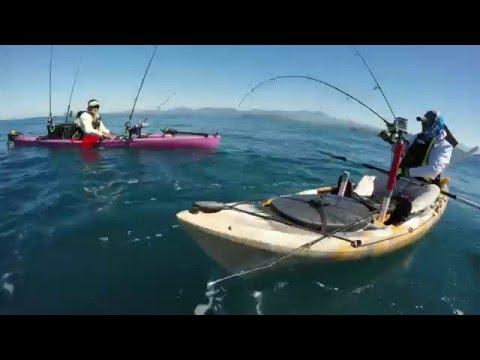 Pesca en piragua
