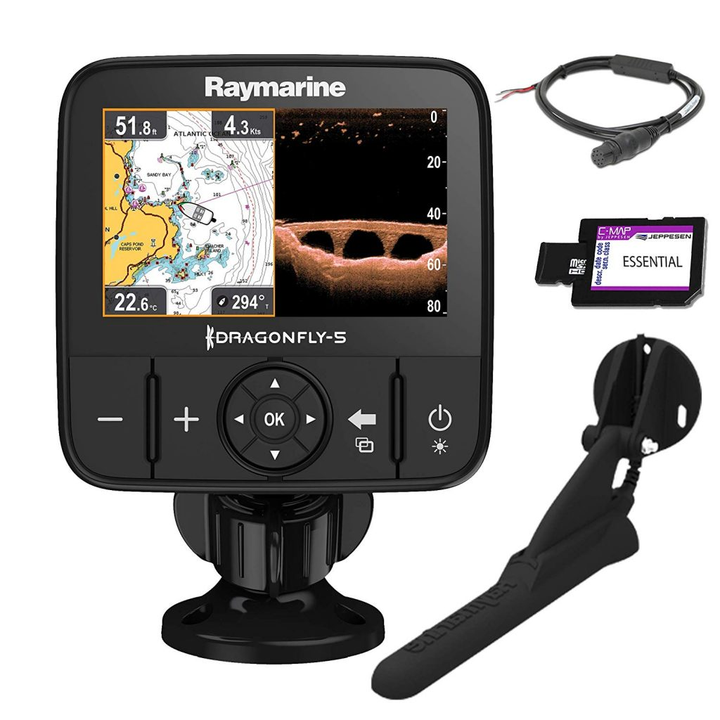 Sonar de pesca Raymarine Dragonfly 5 PRO
